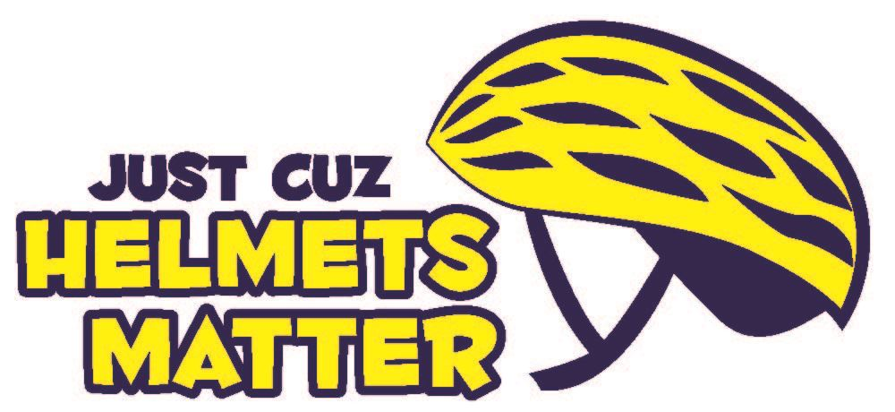 Just Cuz Helmets Matter Logo