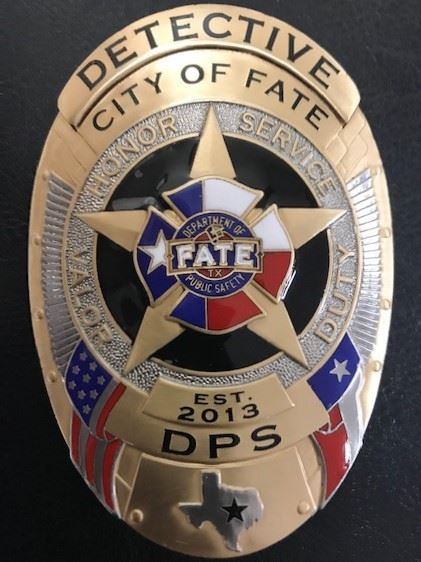 Fate Department of Public Safety Badge