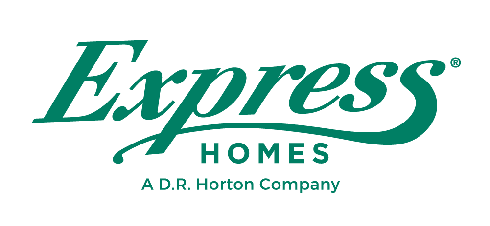 EXPRESS Homes Logo - Green cursive words