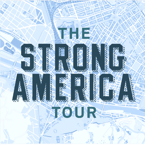Strong Towns logo - words
