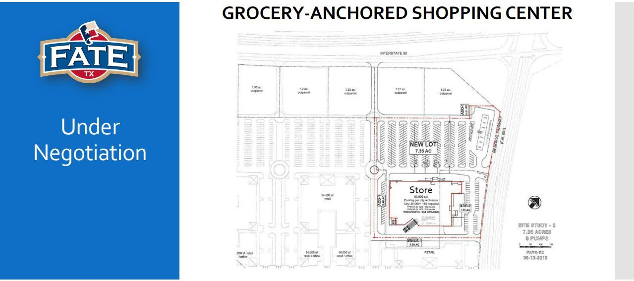 Grocery Anchored Shopping Center Concept Plan (JPG)