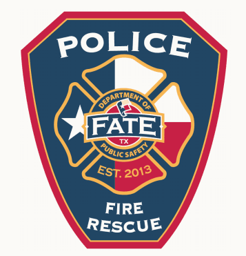 Police Fire Rescue Badge