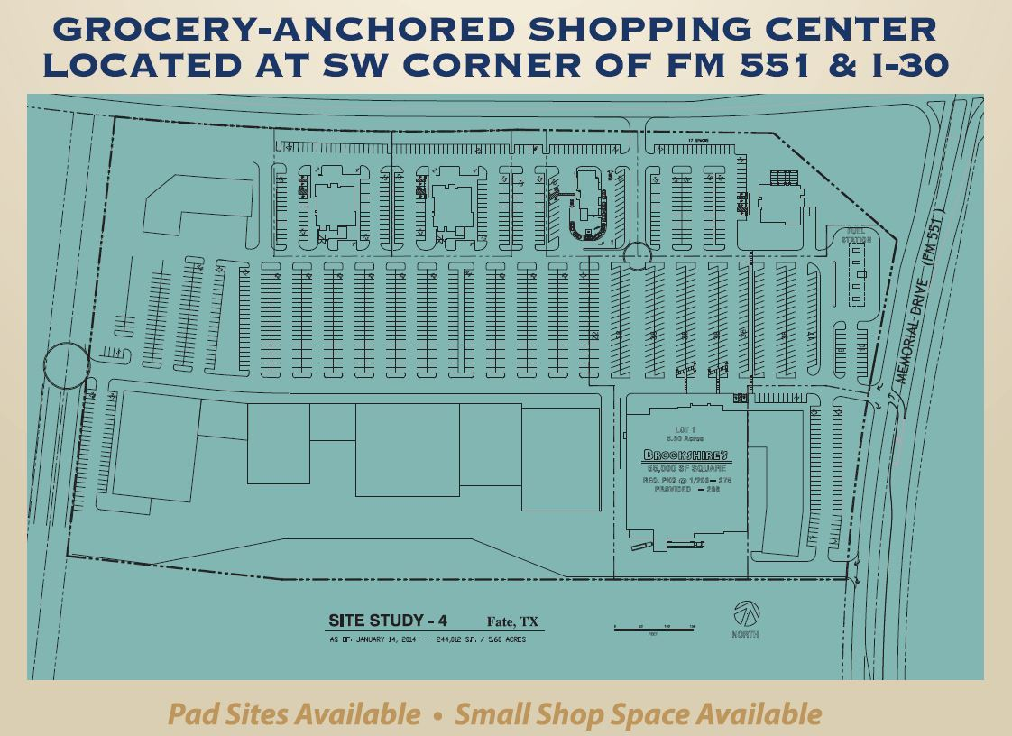 Grocery Anchored Shopping Center