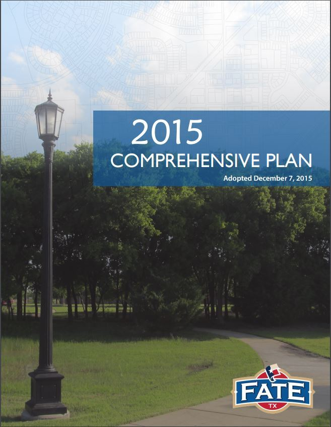 Comprhensive Plan Cover Page