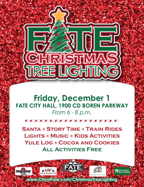 Fate Christmas Tree Lighting Poster